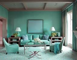 teal accent wall living room beautiful aqua blue ideas on with