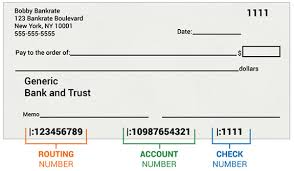 Routing Number Check How It Works
