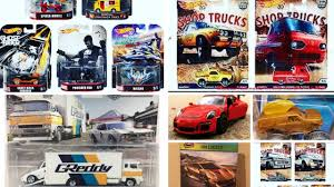 2018 Hot Wheels Car Culture Shop Truck, New Retro Entertainment Set ...