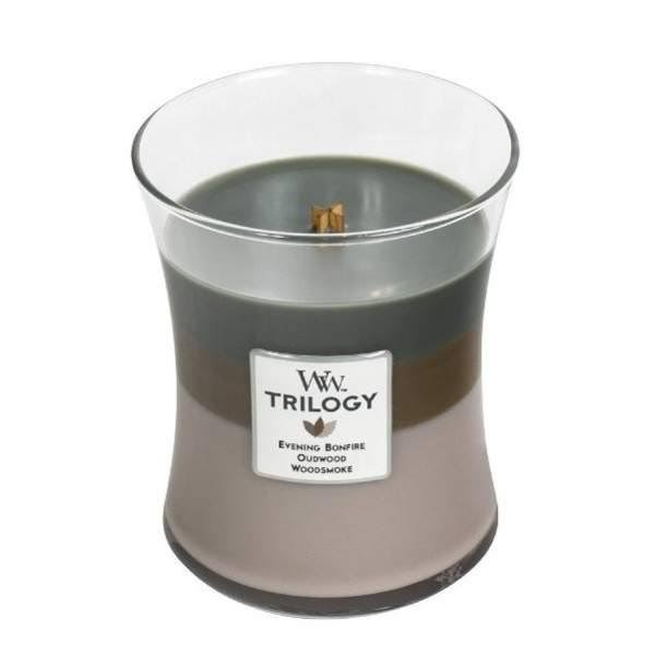 Woodwick Trilogy Scented Jar Candle - 10oz
