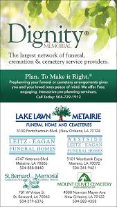 Christians In Business Lake Lawn Metairie Funeral Home and