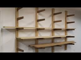 how to build a lumber rack by jon peters youtube