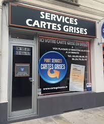 bureau des cartes grises point services cartes grises préfecture sous préfecture 34 rue