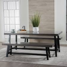 Maggie Rubberwood 3 Piece Dining Set