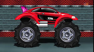 100 Monster Truck Kids Tv Cartoons Movies 2019 Sports Car