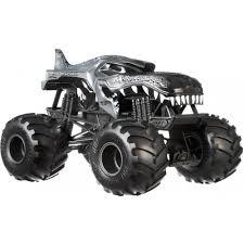 Hot Wheels Monster Trucks 1:24 Scale Mega Wrex - Walmart.com