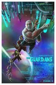 Here Is Phase 1 Of The Poster Posses Tribute To Marvels Guardians Galaxy Vol II