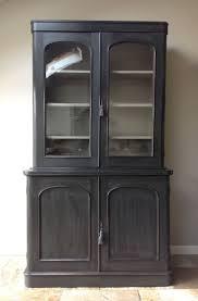 vitrinenschränke vintage antike viktorianische glasierte