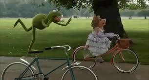 Muppets Bikes GIF