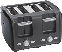Blue 4 Slice Toaster
