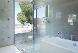 Advanced Bathtub Refinishing Austin by Using Natural Stone In Showers
