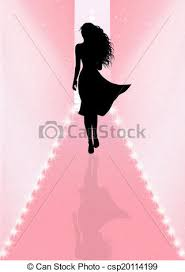 Fashion Show Stock Illustration
