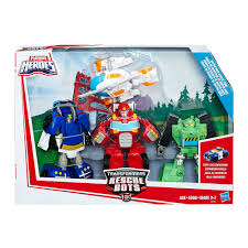 Transformers Rescue Bots Starter Pack | Early Learning Toys | Baby ...