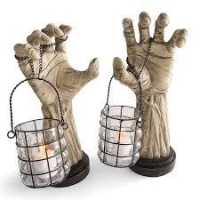 Grandin Road Halloween Tree by Creepy Hands With Lanterns The Green Head