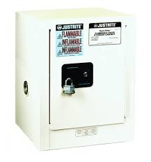 Flammable Liquid Storage Cabinet Grounding by Justrite Sure Grip Ex Countertop Flammable Safety Cabinet