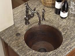 Bar Sink by Round Hammered Copper Bar Sink Copper Sinks Online