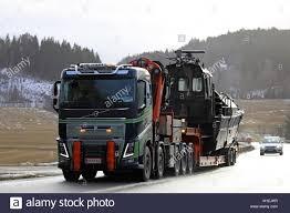100 Volvo Semi Truck SALO FINLAND JANUARY 26 2018 FH16 Semi Truck Of Stock