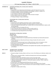Automation Testing Resume Samples | Velvet Jobs Selenium Sample Rumes Download Resume Format Templates Qtp Tester Ideas Testing Samples Experience New Collection Manual Eliminate Your Fears And Doubts About Information Testing Resume 9 Crack Your Qtp Interview Selenium For Automation Best Test Qa Engineer Velvet Jobs Blue Awesome Image Headline For Software Fresher Floatingcityorg 89 Automation Sample Tablhreetencom Qa With Part Smlf 11 Ster Of