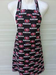 Apron NFL 49ers This Items Is Available And Ready To Ship