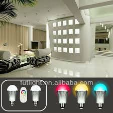2 4g rf home changed color and lighting led lights bulb wireless