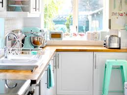 1950s Home Decor Style Pastel Colors Kitchen Ideas