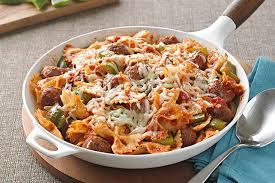 Italian Sausage And Pasta Bow Ties