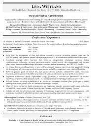 Resume Templates Medical Objective