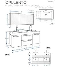 Small Vanity Sink Dimensions by Bathroom Standard Height For Vanity 25 Cabinet Dimensions