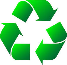 Green Recycle Logo Clipart Free Clip Art