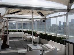 Roll Up Patio Shades Bamboo by Commercial Enclosures