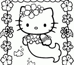 Hello Kitty Coloring Page Free Printable Pages For Kids Online