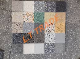 Internal And External Flooring Cladding Kitchen Vanity Tops Bespoke Uses Colorful Terrazzo Pavers