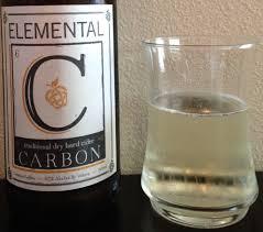 100 Elemental Seattle Carbon Traditional Dry Cider Cider Says