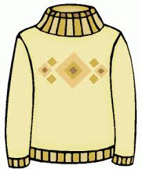 Sweater cliparts