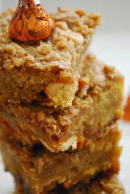 Pumpkin Spice Hershey Kisses Gluten Free by Pumpkin Toffee Blondies The Domestic Rebel