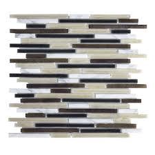 Jeffrey Court Mosaic Tile by Jeffrey Court Cloud 9 11 875 X 13 875 X 6 35 Mm Glass Stone Mosaic