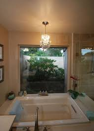 Chandelier Over Bathtub Soaking Tub by 105 Best Beautiful Bathrooms Images On Pinterest Beautiful