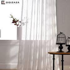tissus pour rideaux pas cher pas cher bande jacquard voile fenêtre rideaux pour chambre blanc