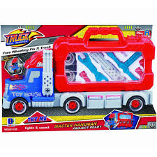 Jual Mainan Anak Truck Tools Master Optimus With Light & Sounds ...