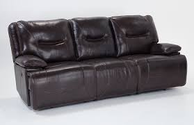 marco leather power reclining sofa bobs discount furniture living
