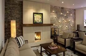 dekorationen aus holz dekorationen natursteinwand im wohnzimmer