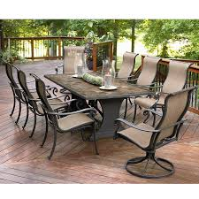 100 Sears Dining Table And Chairs Agio Panorama 9 Piece Patio Set Get Top Entertainment Ideas At
