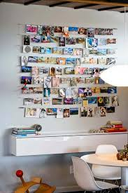 DIY Strung Up Photo Collage Wall