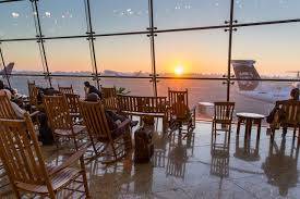 Here's Why So Many Airports Have Rocking Chairs | The Verge Rustic Hickory 9slat Rocker Review Best Rocking Chairs Top 10 Outdoor Of 2019 Video Parenting Voyageur Cedar Adirondack Chair Rockers Gaming With A In 20 Windows Central Hand Made Barn Wood Fniture By China Sell Black Mesh Metal Frame Guest Oww873 Best Rocking Chairs The Ipdent Directory Handmade Makers Gary Weeks And Buy Cushion Online India