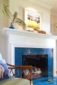 Batchelder Tile Fireplace Surround by Glass Mosaic Fireplace By Stone U0026 Pewter Accents Rainbow Pisces