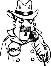 News Reporter Clip Art
