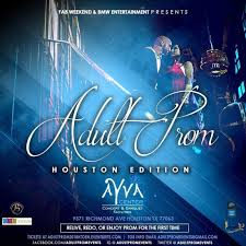 IF Only For One Night 2018 Adult Prom Houston Edition At Ayva Event