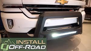 100 Bull Bars For Chevy Trucks SilveradoSierra LUND Bar WLED Light Bar Wiring Black