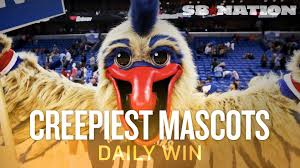 Pierre the Pelican King Cake Baby and the creepiest mascots in