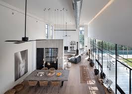 cuisine et maison maison contemporaine au design minimaliste industriel en